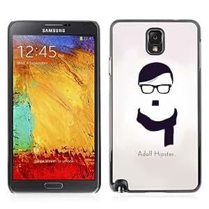 YOYOSHOP [Adolf Hipster Funny Message] Samsung Galaxy Note 3 Case