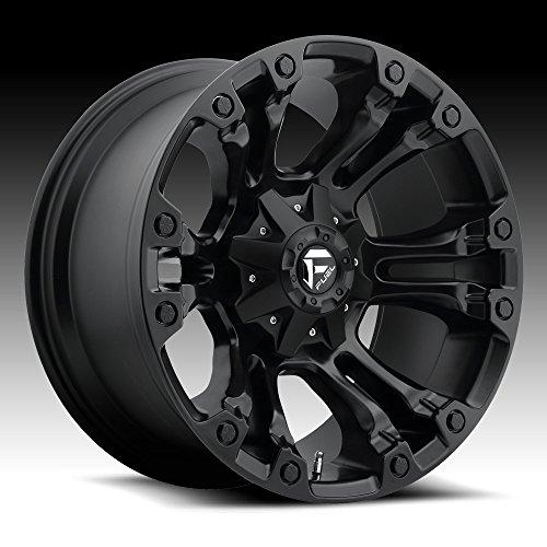 Fuel Offroad D560 Vapor 20x10 5x114.3/5x127 -18mm Matte Black Wheel - Black Wheels Road Off