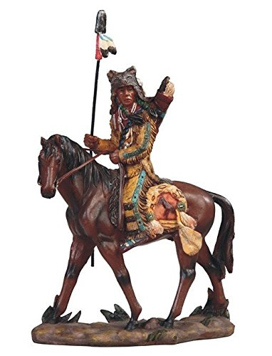 StealStreet Native American Indian Warrior Riding Horse Stat