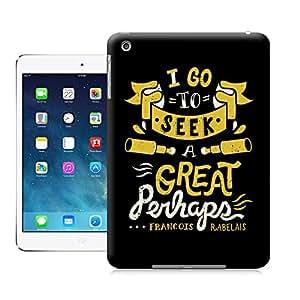BreathePattern-I Go To Seek a Great Perhaps-Apple iPad mini