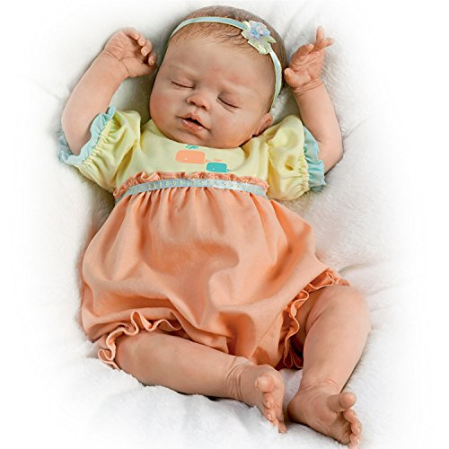 Violet Parker So Truly Real Lifelike Baby Girl Doll Weighted