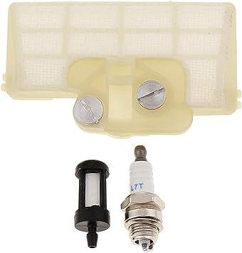 hjgnbiohg Filtro de Aceite Filtro de Aire y la bujía para Stihl Ms290 MS310 MS390 029 039 Motosierra: Amazon.es: Coche y moto