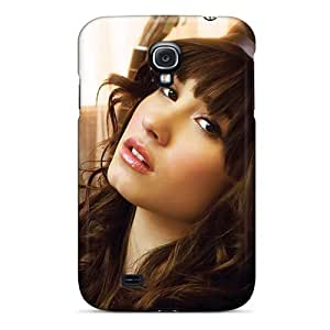 Awesome Demi Lovato Flip Case With Fashion Design For Galaxy S4