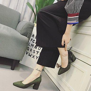 à à Vert Talons Chaussures Noir Femme 5 A Bride Décontracté Arrière Polyuréthane 7 cm Printemps A Bride Arrière LvYuan black ggx qTtfZwpgF