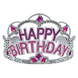 """Best Amscan Birthday Gifts For 7 Year Old Boys - Majestic Birthday Gem Tiara Party Wearable Favours Headwear,3"""" Review"""