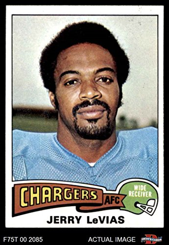 1975 Topps # 181 Jerry LeVias San Diego Chargers (Football Card) Dean's Cards 7 - NM Chargers