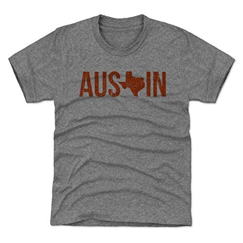 500 LEVEL Austin Youth Shirt - Kids X-Small  Tri Gray - Aust
