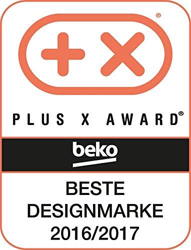 B 15 Programme Beko DC 7130 N Kondenstrockner 7kg Elektronische Feuchtemessung Automatischer Knitterschutz Reversierende Trommelbewegungen