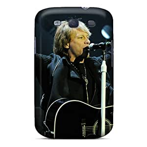 Cute High Quality Galaxy S3 Jon Bon Jovi In Concert Case