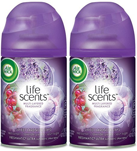Air Wick Freshmatic Ultra Automatic Spray Refill - Life Scents - Sweet Lavender Days