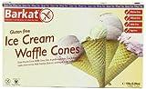 Barkat Gluten-Free Ice Cream Waffle Cones 150 g (Pack of 2)