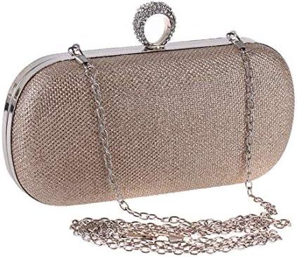 イブニングバッグハンドバッグレディーバッグレディーゴールドシルバークラッチバッグの変更、(色:シルバー)絶妙なファッションデザイン 美しいファッション