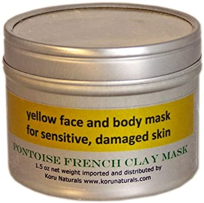 Yellow French Clay by Naturals New Zealand