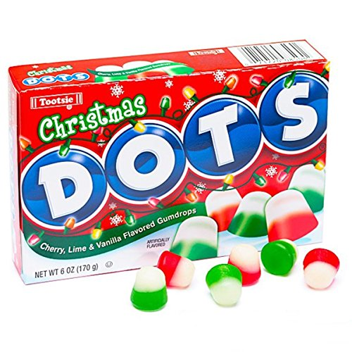 - Christmas Dots Gumdrop Candy Theater Box, 6 oz (Pack of 3)