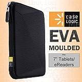 Case Logic EVA Molded Universal 17,8cm Tablet/E-Reader Case/Hartschale–Für iPad Mini 1/2/3/4, Google Nexus 7, Asus PadFone Mini, Amazon Kindle Fire HD/HDX 17,8cm Kobo Aura One/H20, Kindle Touch/Paperwhite/Voyager, Sony eBook, Samsung Galaxy Tab 7/A, Lenovo Tab, Acer Iconia B1, Universal, Archos 7und viele mehr