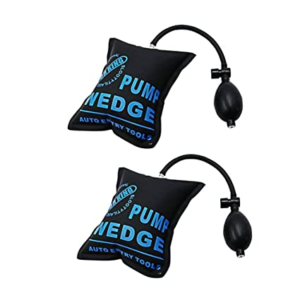 WINOMO 2 Pieces Air Wedge Pump Wedge for Home Use Door Window Installation and Auto Repair