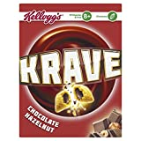 Kellogg's Krave Chocolate Hazelnut, 375g