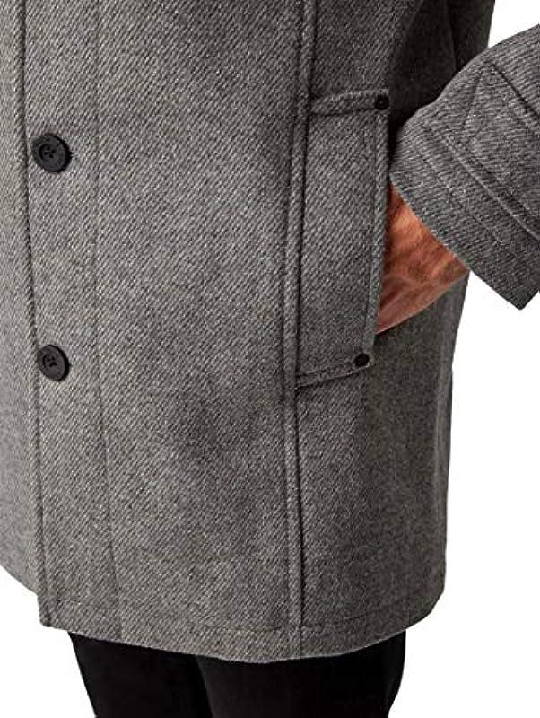 TOM TAILOR dla mężczyzn kurtki i kurtki klasyczny płaszcz - xxl: Odzież