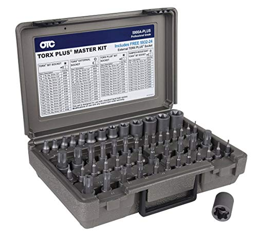 OTC Tools & Equipment OTC-5900A-PLUS 53 Piece Master Torx Bit Socket Set