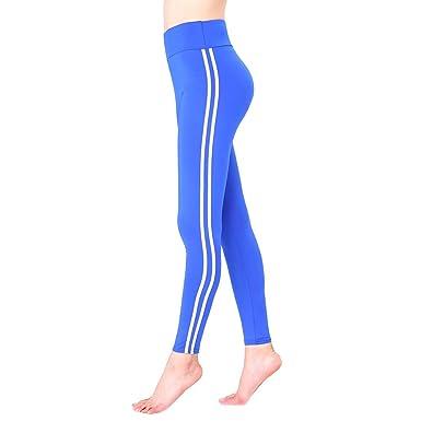 hibote Pantalones de chándal de Mujer Slim Fit Leggins Largos ...