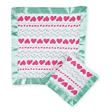 aden by aden + anais secruity blanket 2 pack, light-hearted