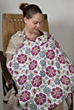 Product review for Nursing Cover in Purple Floral