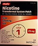 Best Nicotine Patches - Rugby Nicotine Transdermal System Opaque Patch Step 1 Review