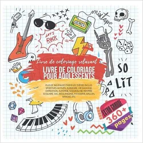 Livre De Coloriage Pour Adolescents Livre De Coloriage