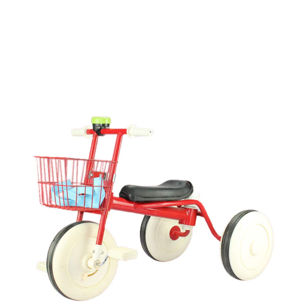 Baby Stroller YXGH@ Safe Children's Tricycle Comfortable Baby Carriage 1-3-6 Years Old Baby Trolley