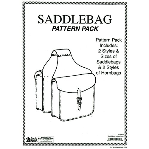 Tandy Leather Factory Saddle Bag Pattern Pack