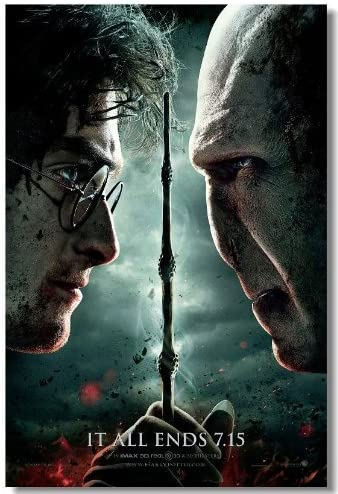 Harry Potter 7 Deathly Hallows Movie Silk Wall Poster 1 6 ...