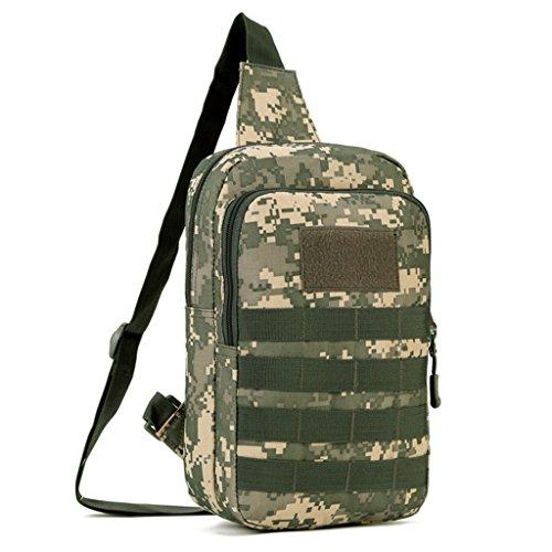 Crossbody Sling Cinmaul Pack Colores Hombre Táctica Bolsa Varios Acu Mochila Pecho Camouflage Desert Militar ggYqa
