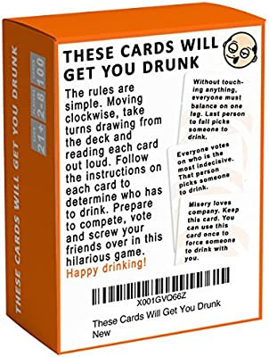 Fun Group Card Games for Adults These Cards Will Get you Drunk Take Shots Party