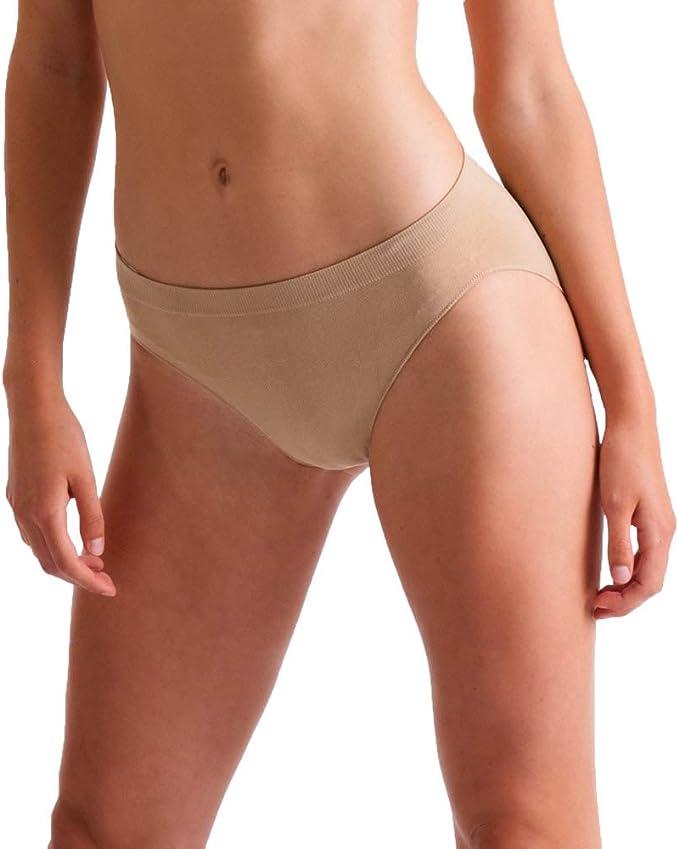 UK Kid Girl Seamless High Cut Briefs Ballet Dance Underwear Underpants Knickers