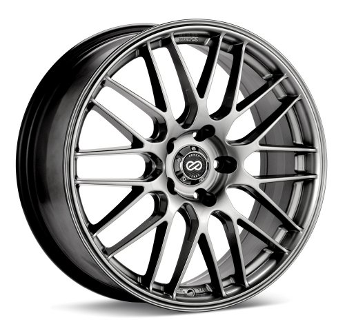 Enkei EKM3 (17 x 7, 5 x 114.3) 38mm Offset, Hyper Silver, (1) Wheel/Rim