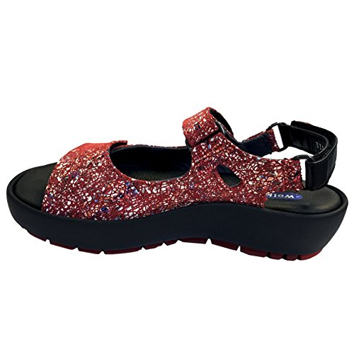 Wolky Red Multi Lacets Chaussures À Dive Winter Trcq7Taw