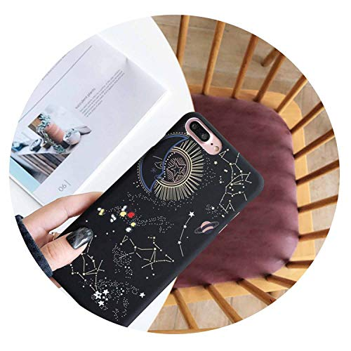 (Luxury Starry Sky Constellation Pattern Phone Case for for iPhone 7 8 6 6s Plus Fashion Cute Couple Back Cover for for iPhone Xs Max XR,Cakes,for for iPhone)