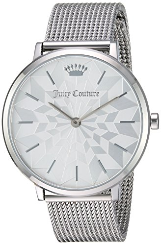 Juicy Couture Women's 'LA ULTRA SLIM' Quartz Stainless Steel Casual Watch, Color:Silver-Toned (Model: 1901585)