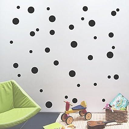 Amazon.com: 252 Pcs 1.57Inch/4cm Removable Polka Dots Wall art ...