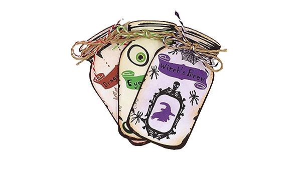 Magic Potion Jar Ephemera Journal Cards