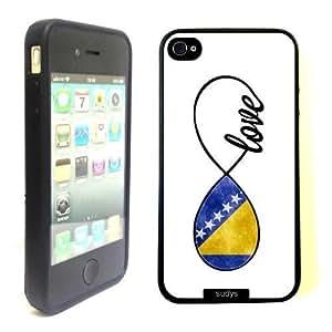 Pink Ladoo? iphone 6 plus Case Phone Cover Bosnian Love Bosnia Flag Infinity Love