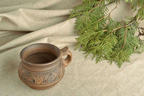 homemade ceramic cup