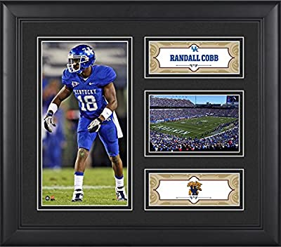 "Randall Cobb Kentucky Wildcats Framed 15"" x 17"" Player Collage - Fanatics Authentic Certified - College Player Plaques and Collages"