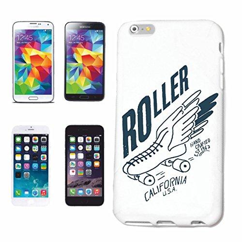caja del teléfono iPhone 6+ Plus RODILLO DE CALIFORNIA EE.UU. VIDA DE MANERA STREETWEAR HIPHOP SALSA LEGENDARIO Caso duro de la cubierta Teléfono Cubiertas cubierta para el Apple iPhone en blanco