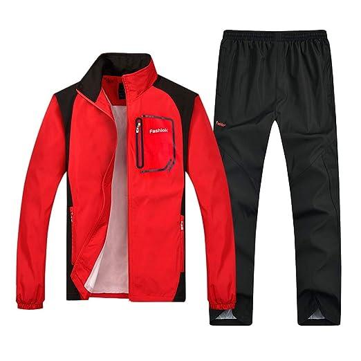 ZWYY Chándal de los Hombres, Deportes atléticos Casual Sweatsuit ...