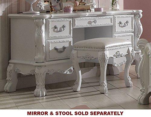 Acme Furniture ACME Dresden Antique White Vanity - French Vanity