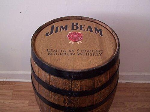 - Jim Beam Kentucky Straight Bourbon Whiskey Barrel-Sanded-Finished FREE SHIPPING