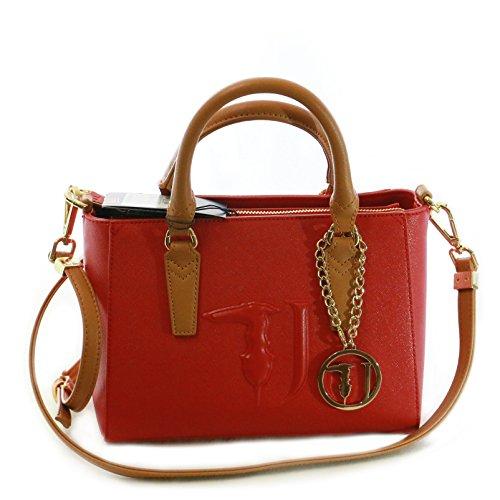 rosso 75B00010 in saffiano eco borsa in borsa eco qxw8n4YF0x