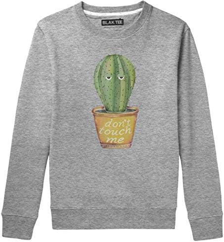 BLAK TEE Hombre Dont Touch Me Introvert Cactus Camisa De Entrenamiento: Amazon.es: Ropa y accesorios