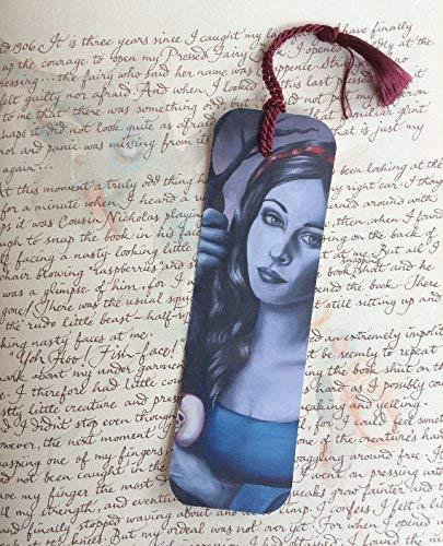 Snow White Bookmark Fairy Tale Bookmark Fantasy Art Bookmark Fantasy Bookmark